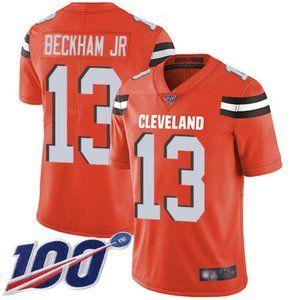 Browns Odell Beckham Jr 100th Season Jersey 3